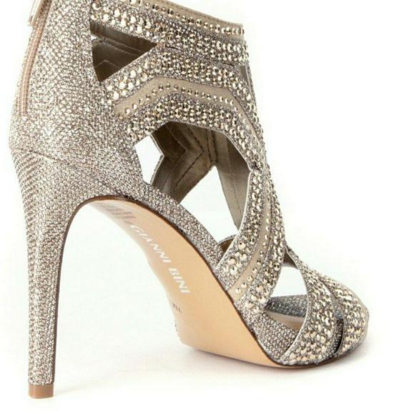 191fae886 Gianni Bini Diamond Studded Shoes